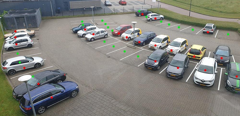 parkeerplaats block building