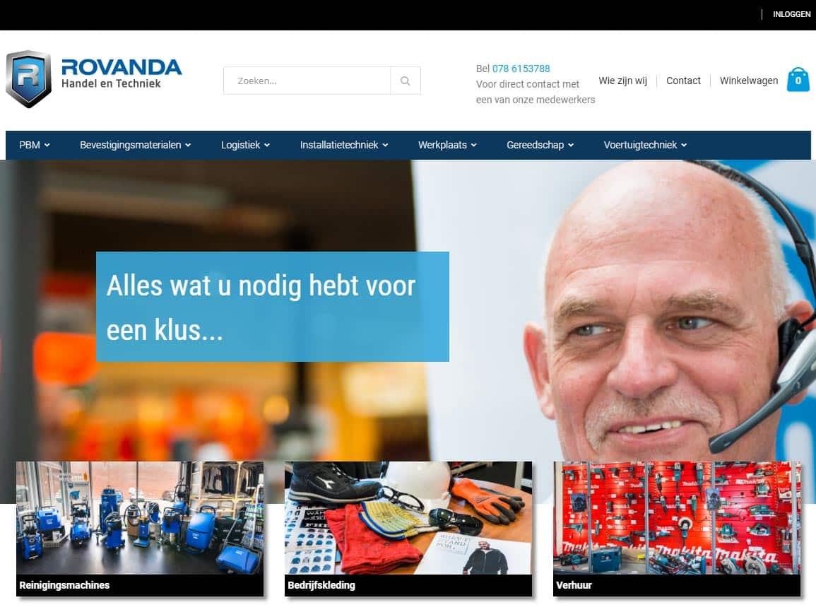 Webshop Rovanda